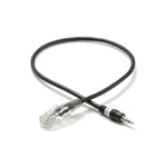 RJ45 - 2.5mm headset jack cable